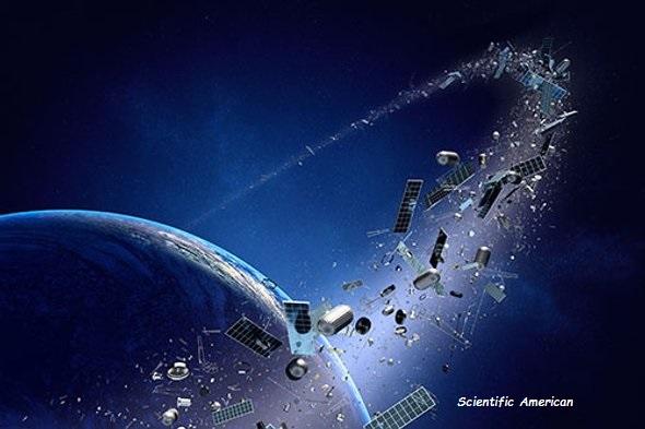 Vertederos de chatarra espacial