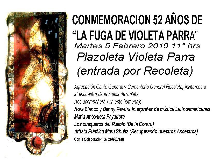 Gracias a Violeta Parra que nos ha dado tanto