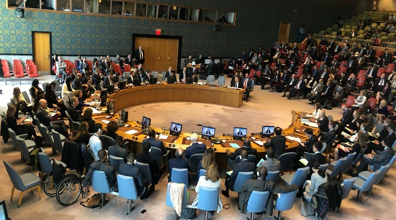 Consejo de Seguridad de la ONU/ FOTO: MPPRE