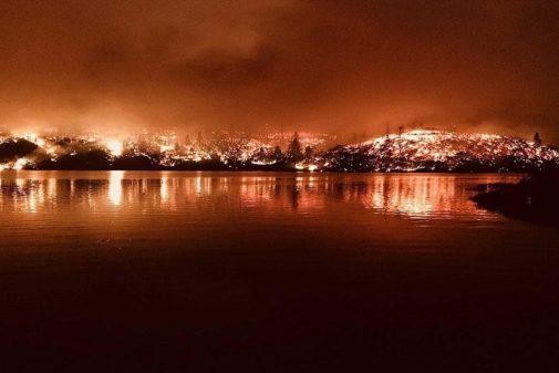 El incendio más grande de California fue provocado por un hombre que intentaba tapar un nido de avispas