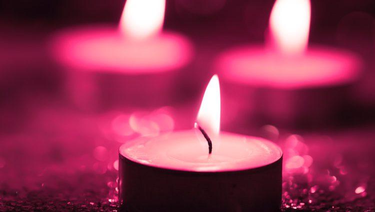 Resultado de imagen para velas rosadas