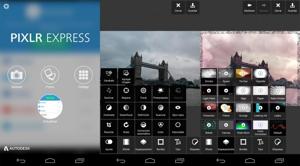 Las mejores aplicaciones para editar fotografías