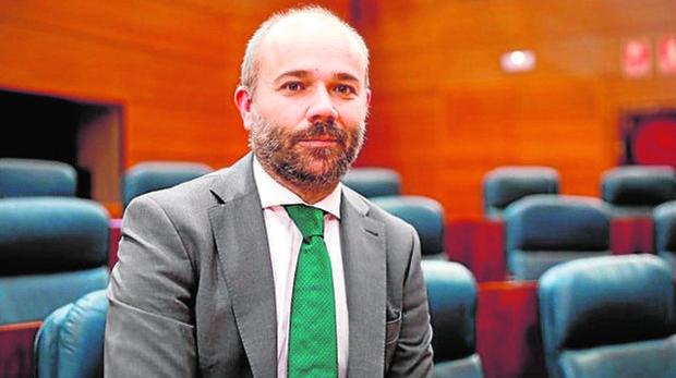 Juan Trinidad nuevo presidente de la Asamblea de Madrid