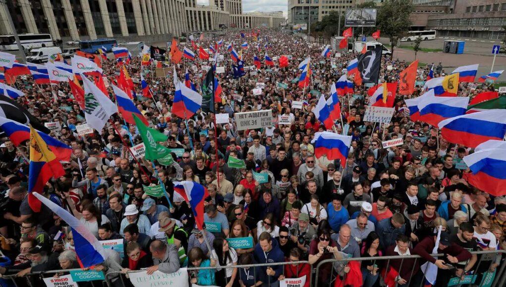 Rusia Manifestación