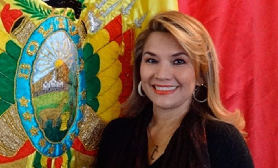 Jeanine Áñez Bolivia
