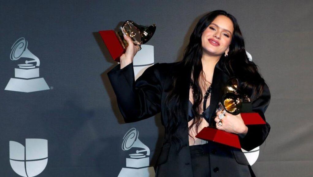 Rosalía triunfa en grande en los Latin Grammy 2019