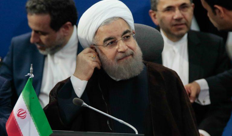 """Presidente iraní denuncia """"terrorismo económico"""" por parte de EE.UU."""
