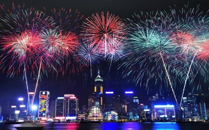 Hong Kong cancela el espectáculo de fuegos artificiales de Nochevieja