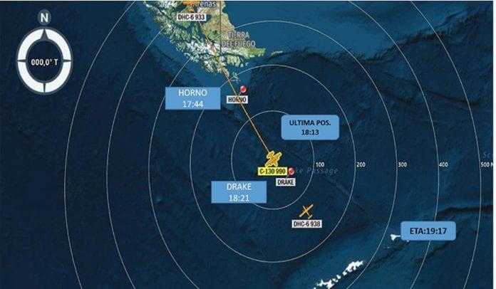 Avión militar chileno fue declarado siniestrado con 38 personas a bordo
