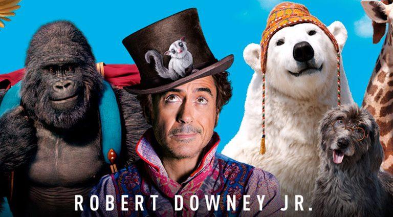 Dolittle de Robert Downey Jr. es ridiculizado por los críticos