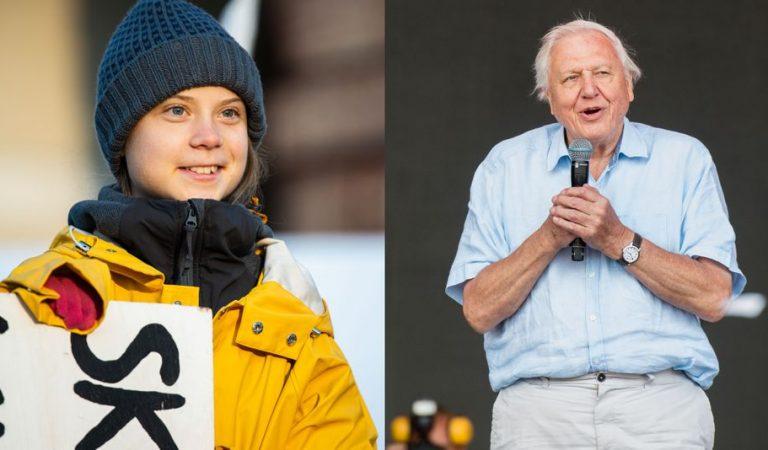 David Attenborough y Greta Thunberg hablan por primera vez sobre el clima