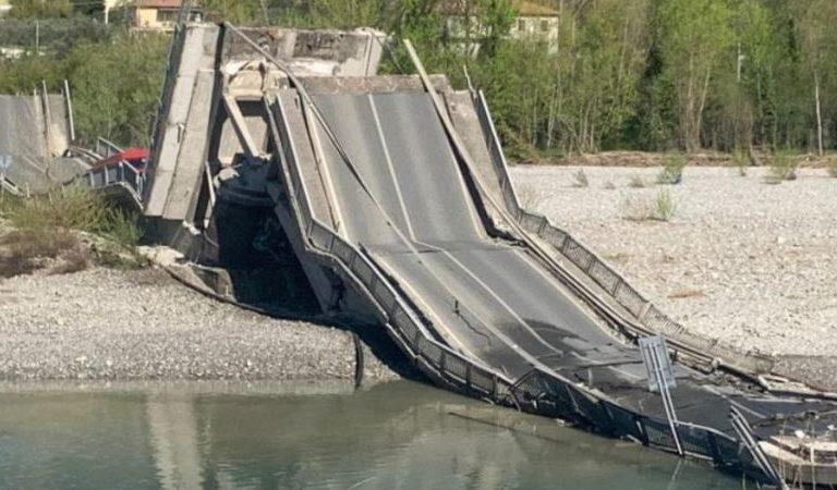 Colapso de puente en Italia no dejó víctimas gracias a cuarentena