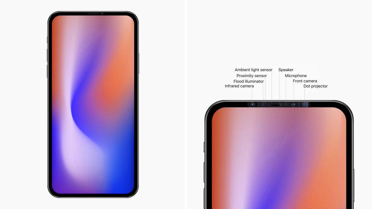 Se espera un iPhone 12 sin notch para la siguiente generación, pero solo para las versiones costosas. El iPhone económico seguirá con las mismas líneas de diseño propuestas para que siga siendo un éxito en ventas como lo ha sido en sus ya dos versiones lanzadas al público