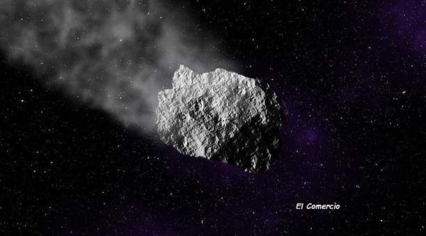 el asteroide se decubrio en el año 2001