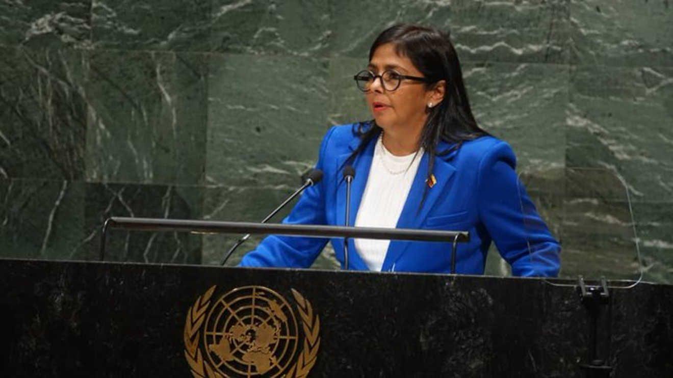 vicepresidenta de Venezuela