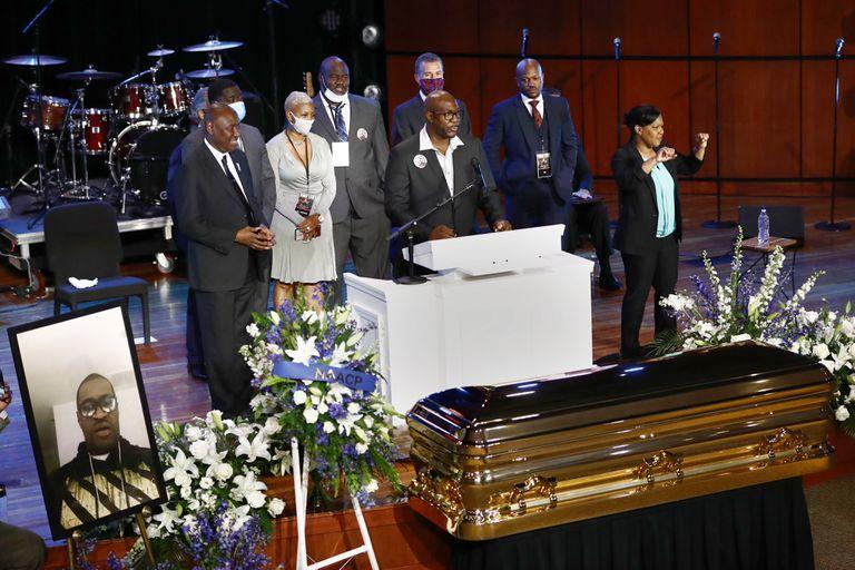 funeral de floyd
