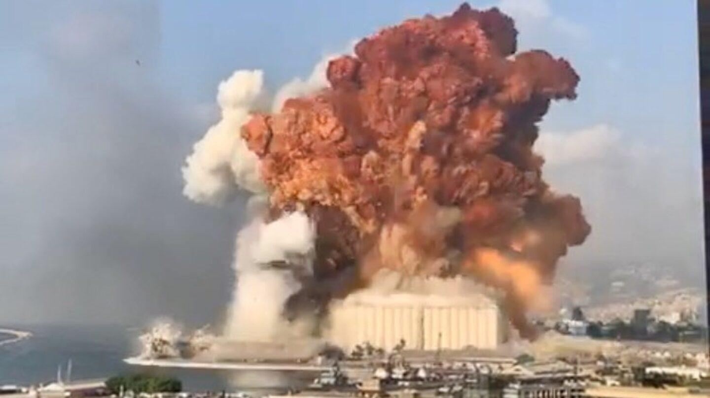 explosion en líbano