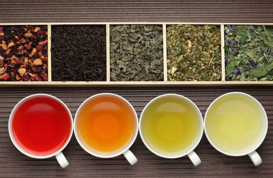 tés de colores