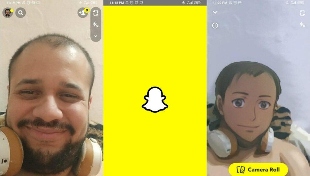 Filtro Anime Snapchat