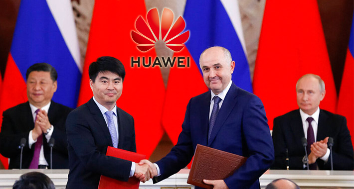 Huawei y Rusia