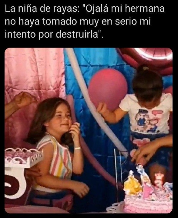 Memes de la niña que sopla la vela