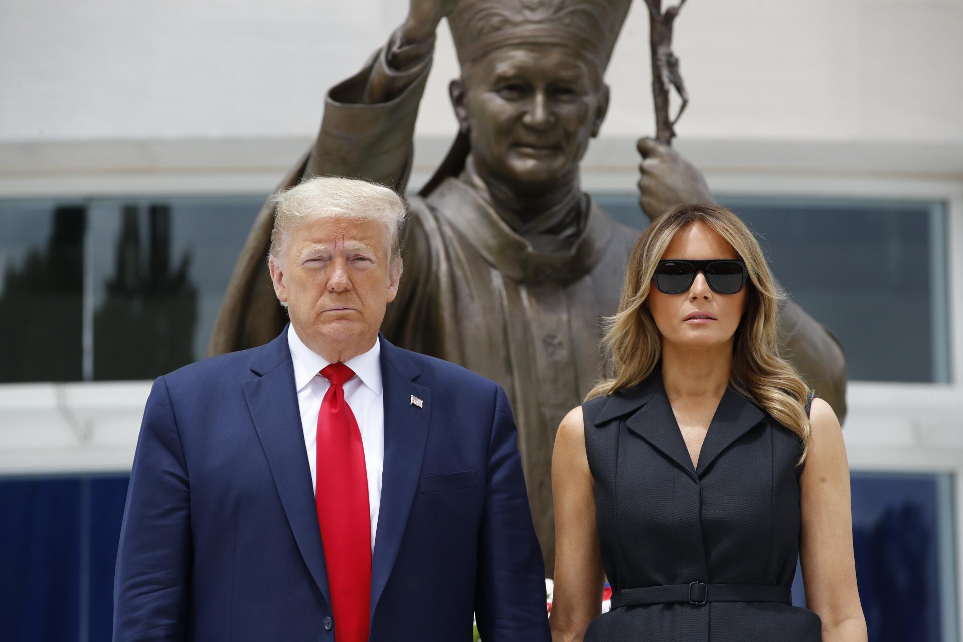 Trump con Covid