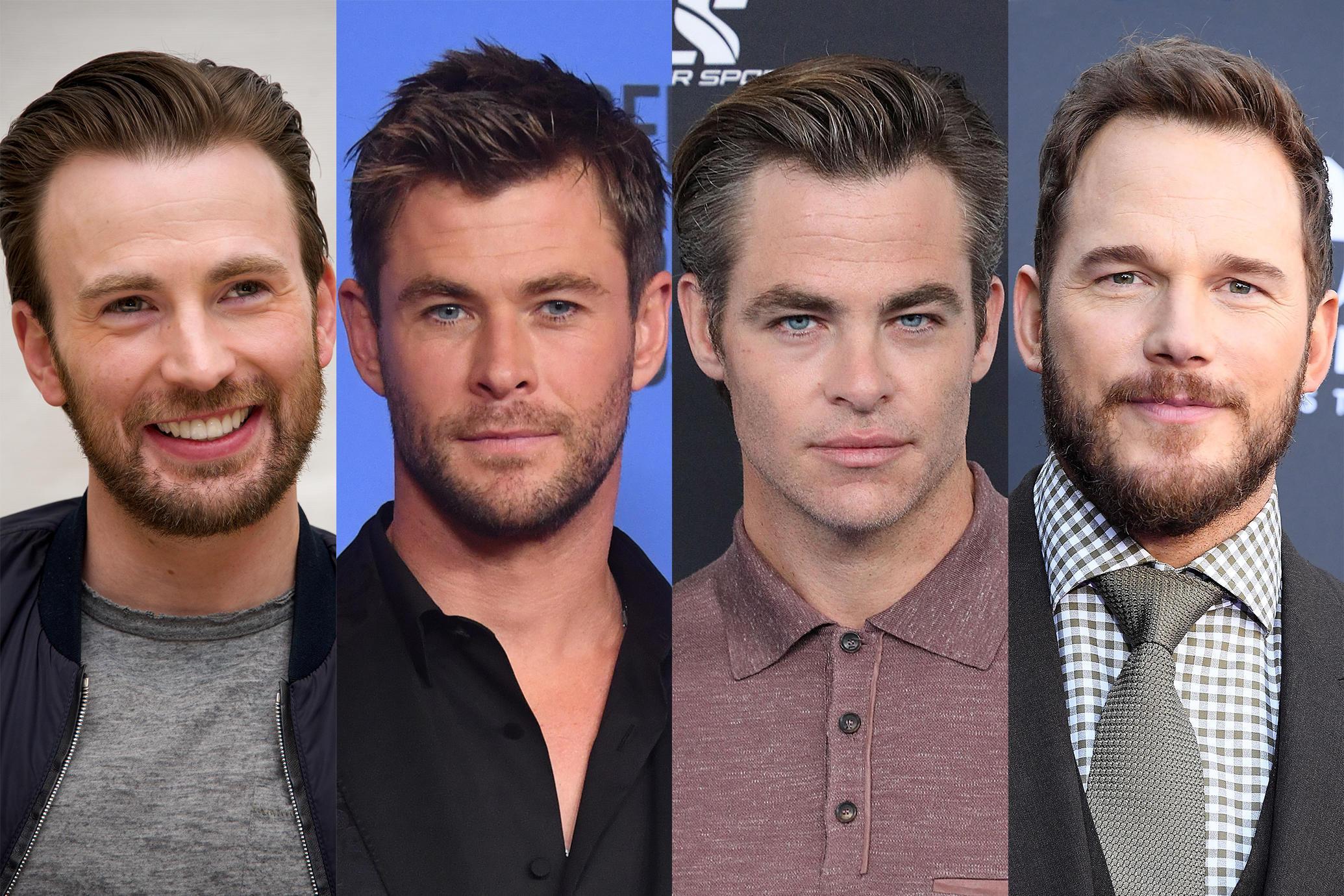 Los 4 Chris de Hollywood