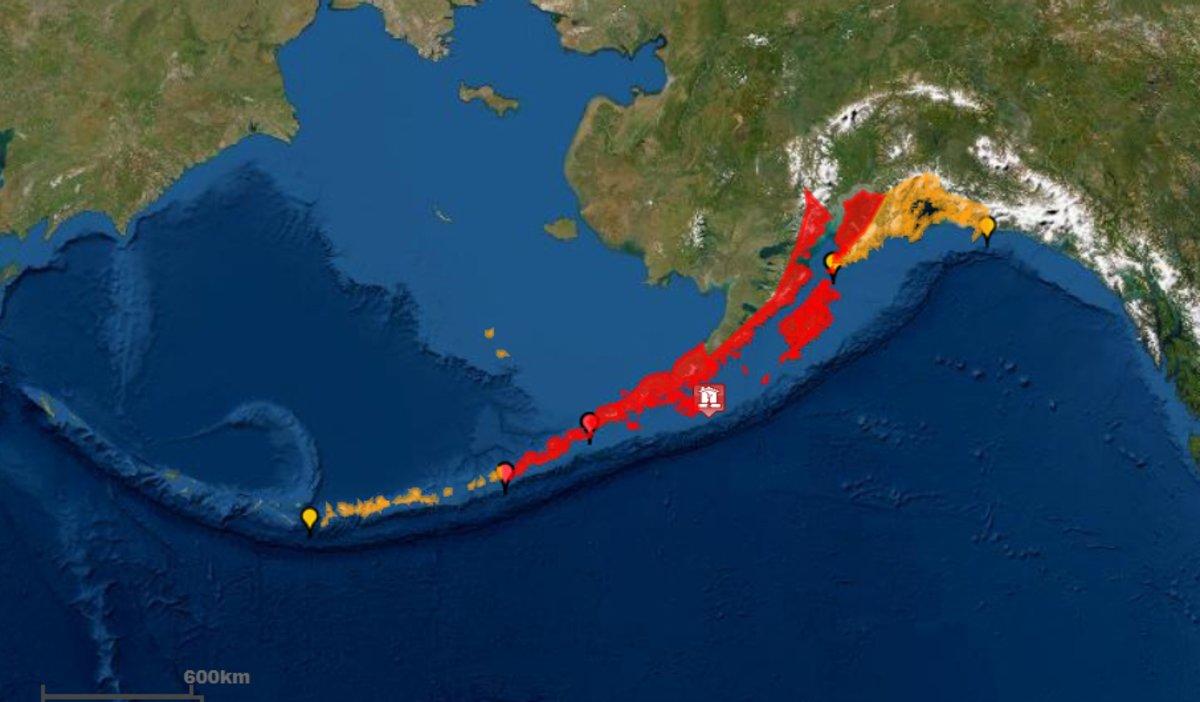 Sismo en Alaska