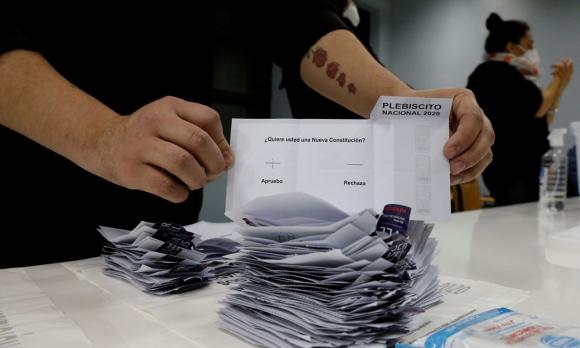 Chile en votaciones