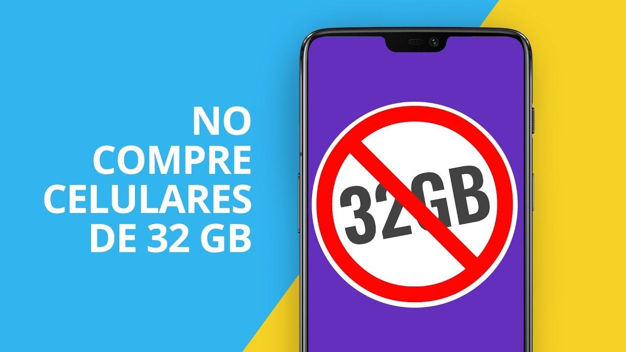teléfono de 32 gb