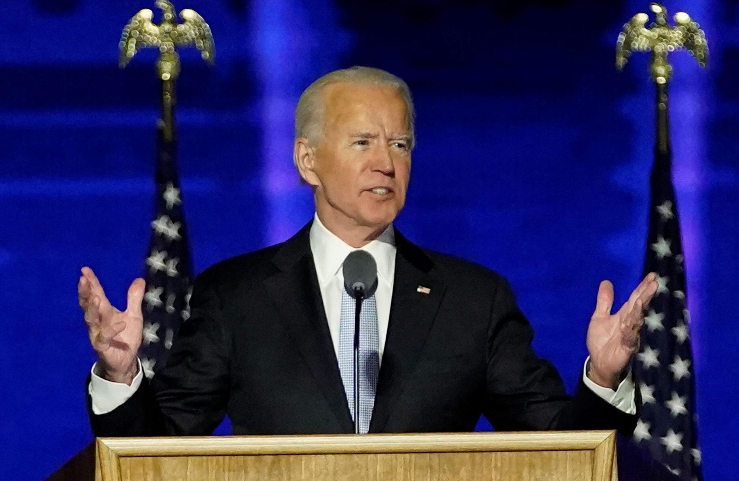 oe Biden en discurso