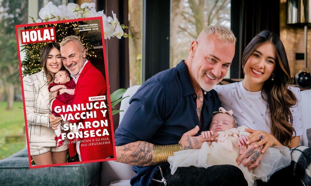 Gianlucca y su familia