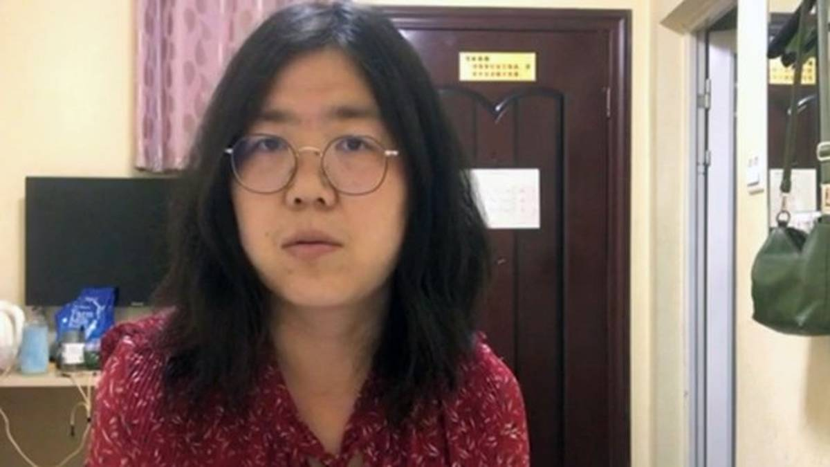 periodista china detenida