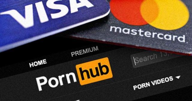 pornhub con visa y mastercard