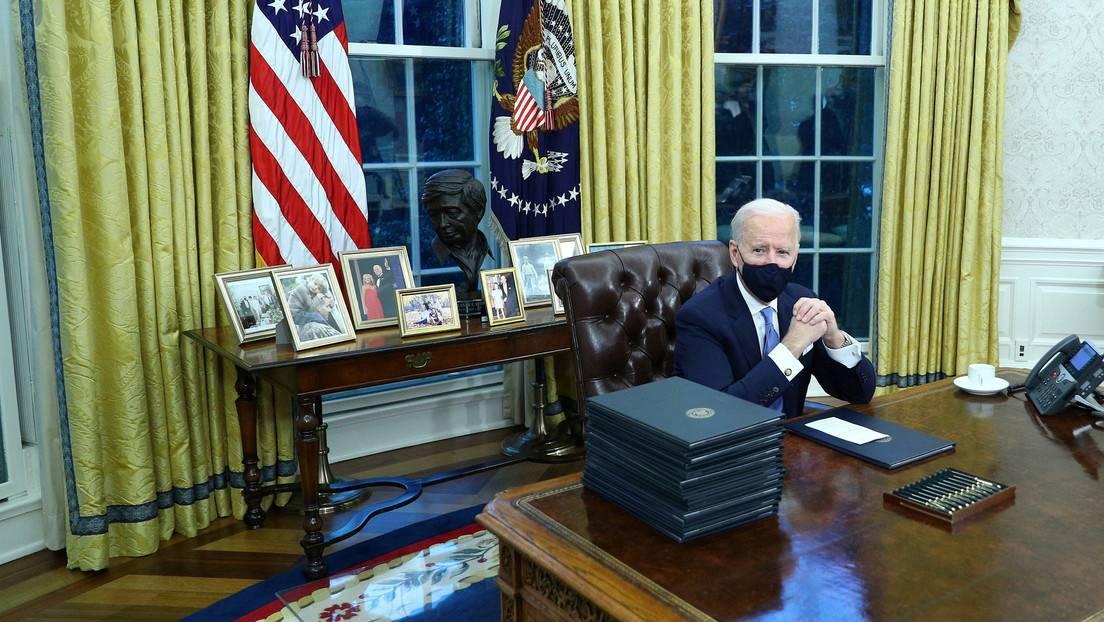 Acciones de Biden