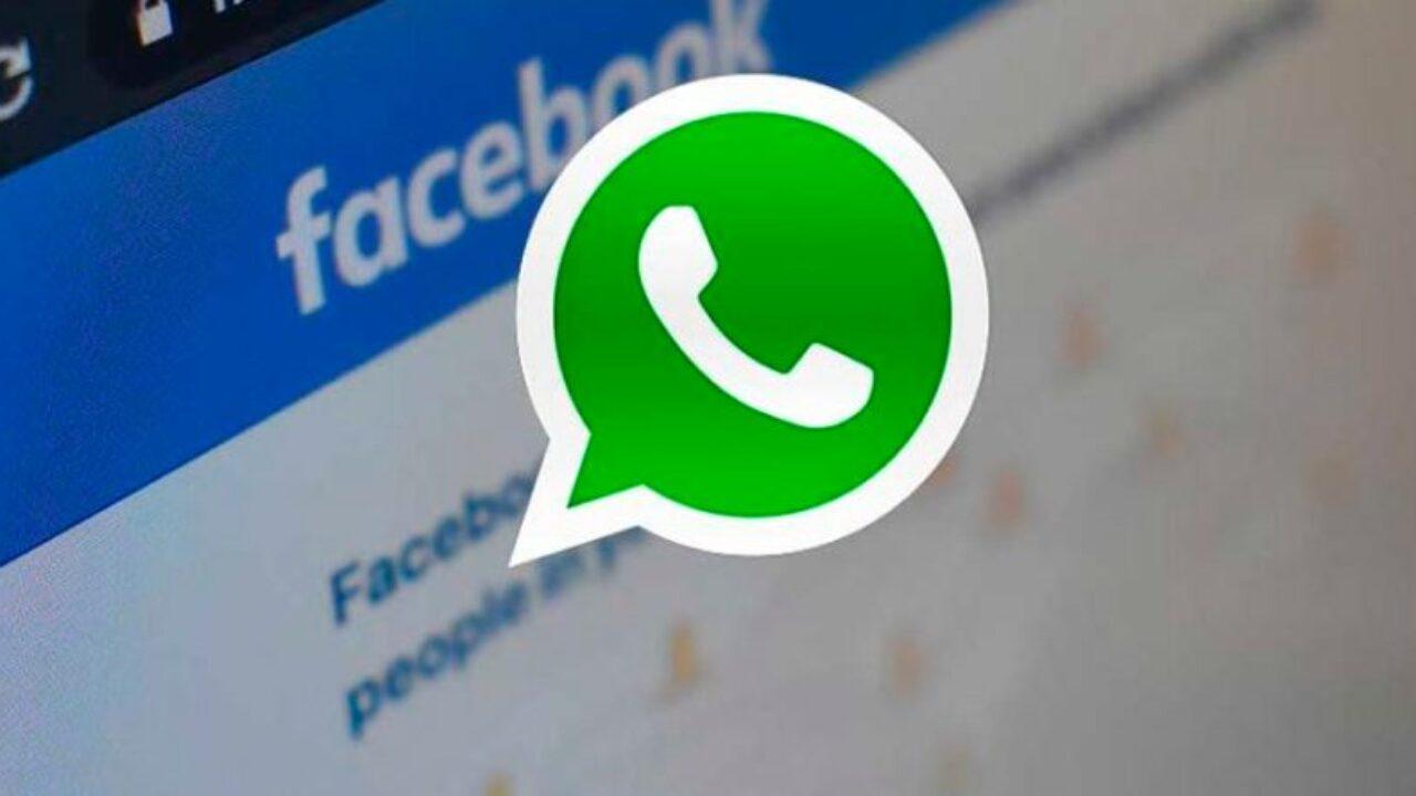 whatsapp con facebook