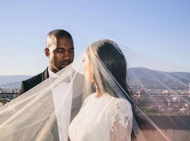 historia de amor de Kim y Kanye