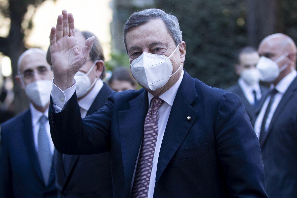Draghi, primer ministro de Italia