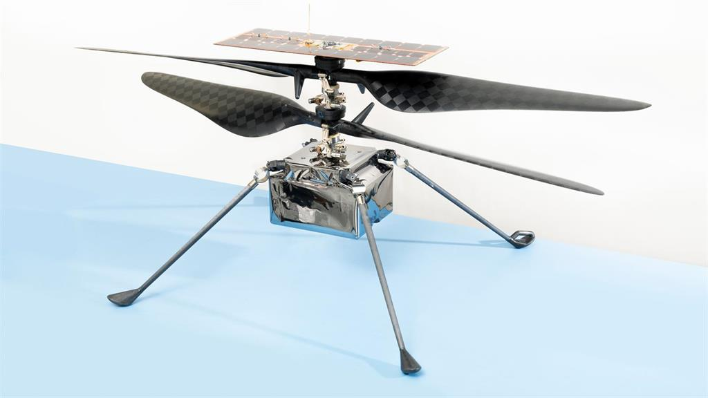helicoptero volara marte como prueba