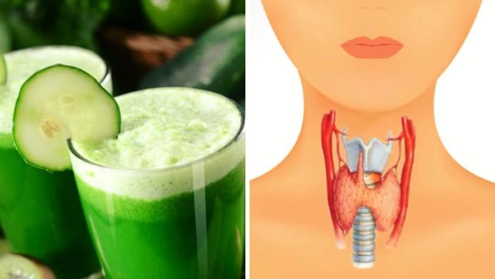 jugo para curar la tiroides