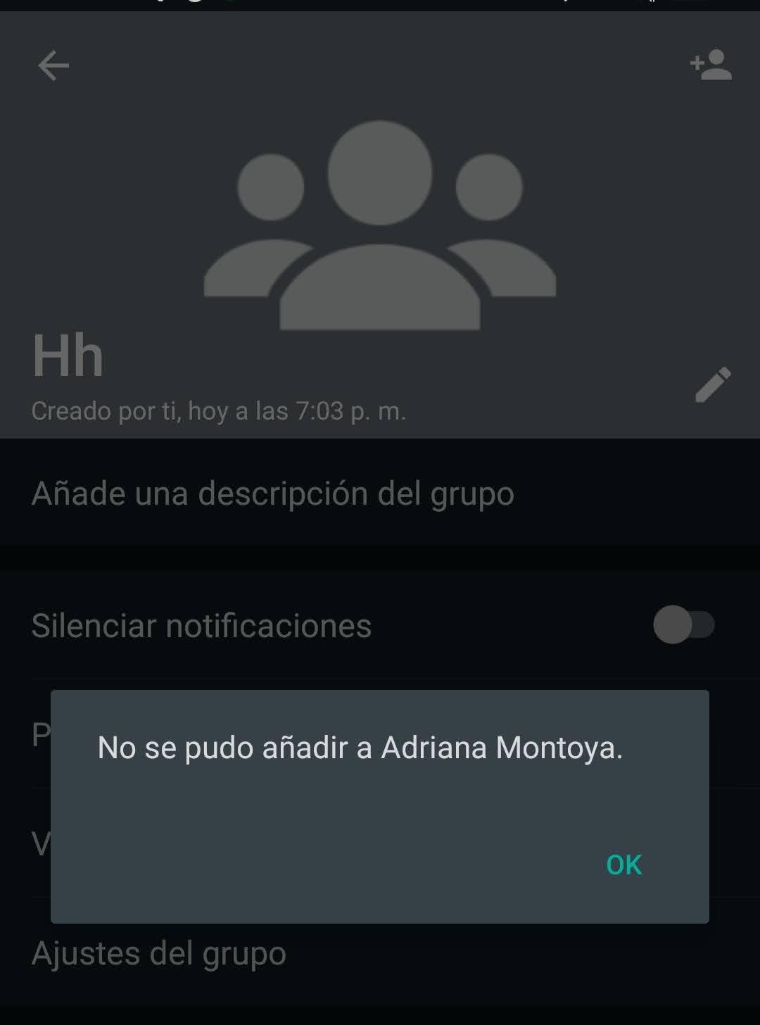 Me bloquearon de WhatsApp