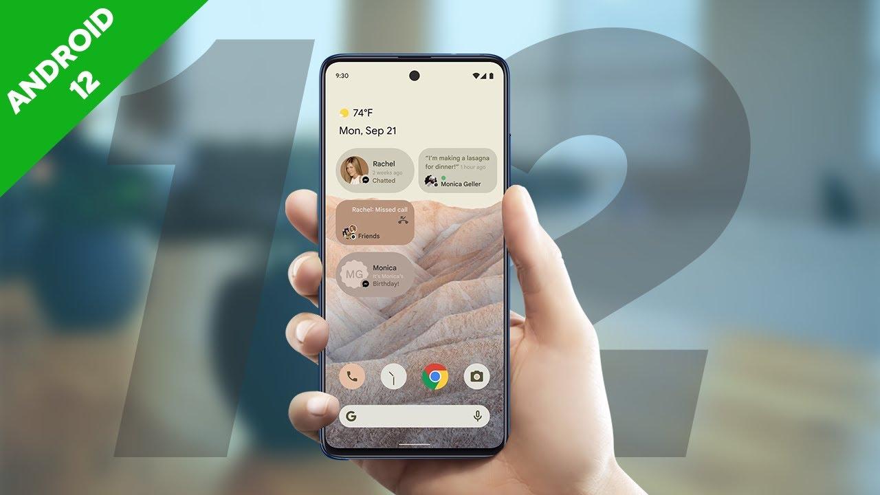 samsung con android 12