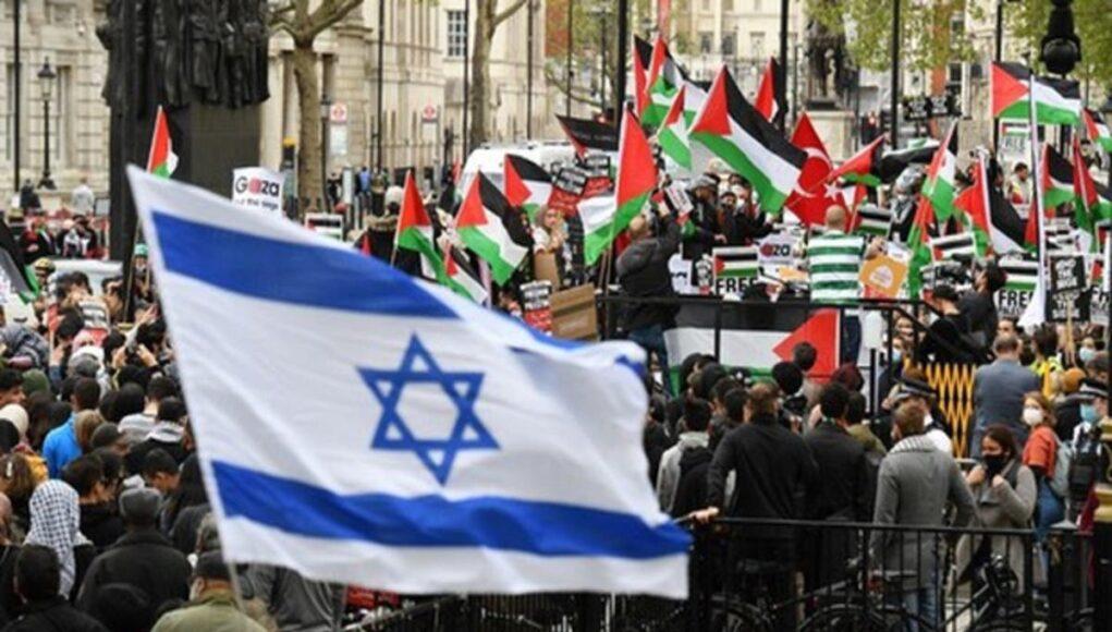 Israel y palestina en conflicto