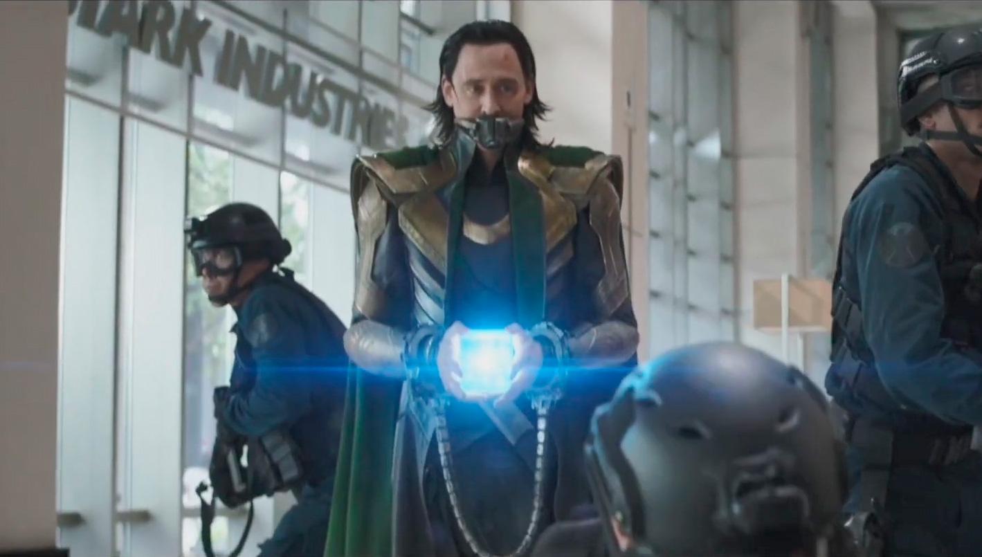 Loki con el teseracto