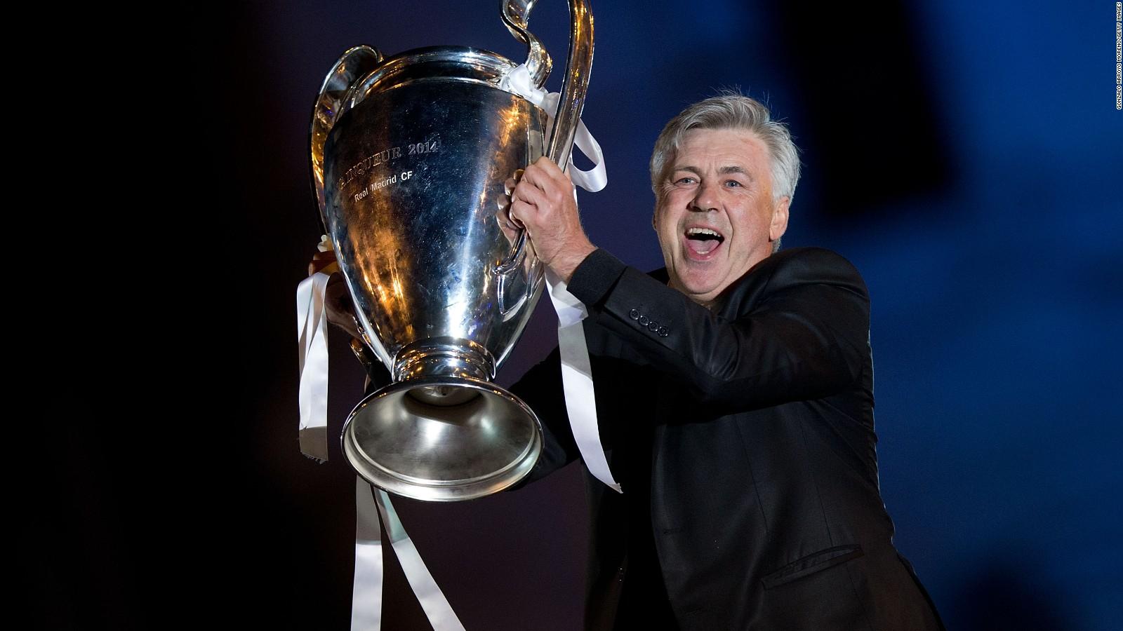 Carlo ancelotti en el real madrid