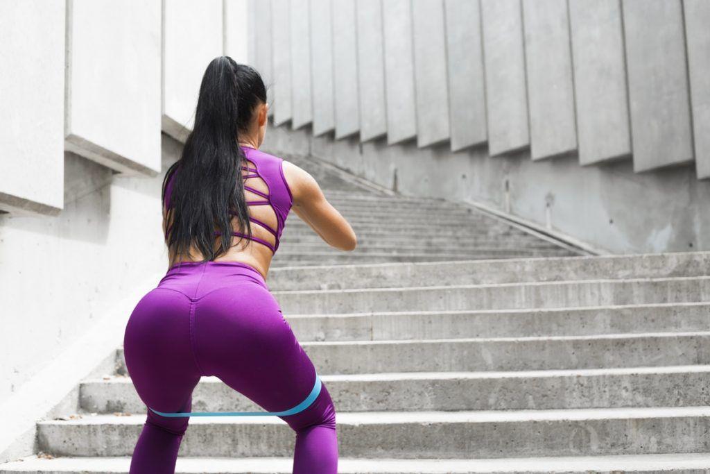 rutina de ejercicio de glúteos