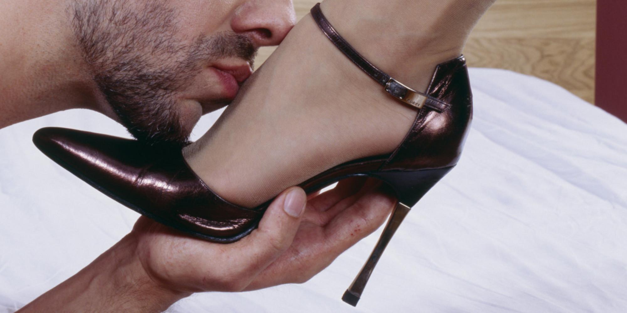las fantasías sexuales y fetiches con los zapatos altos