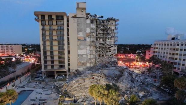 colapso edificio en miami