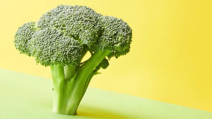 Comer brócoli